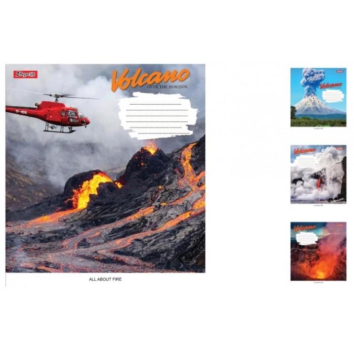 А5/48 лін. 1В Volcano, зошит дя записів 10 шт. в уп. //