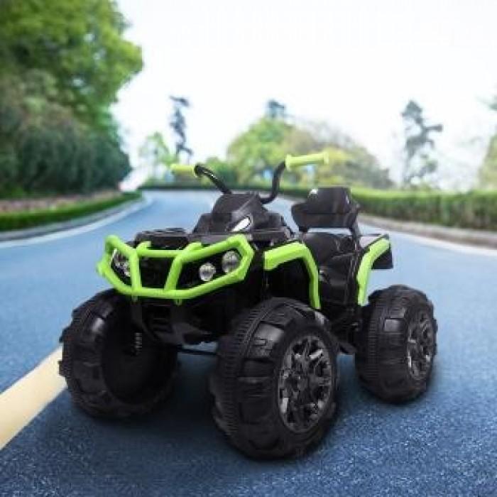 Ел-мобіль T-733 EVA GREEN квадроцикл 12V7AH мотор 2*45W з MP3 103*68*73 /1/