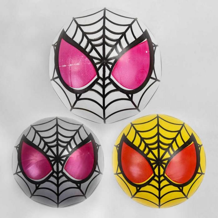 Мяч резиновый 3 цвета, размер 9