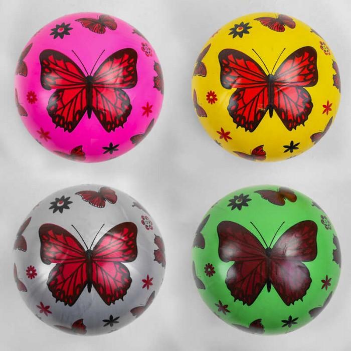 Мяч резиновый 4 цвета, размер 9